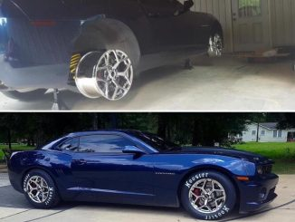 A customer recently sent us this pic of his Camaro during a prefit of his Race S...