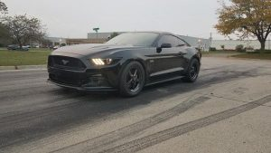 "Mustang Monday! S550 Mustang rolling on 17"" Dark Stars all the way around! #race..."