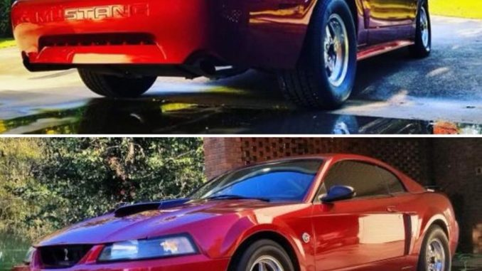 Today's pic is from our customer Billy Duke. His SWEET '04 Mustang GT is rolling...