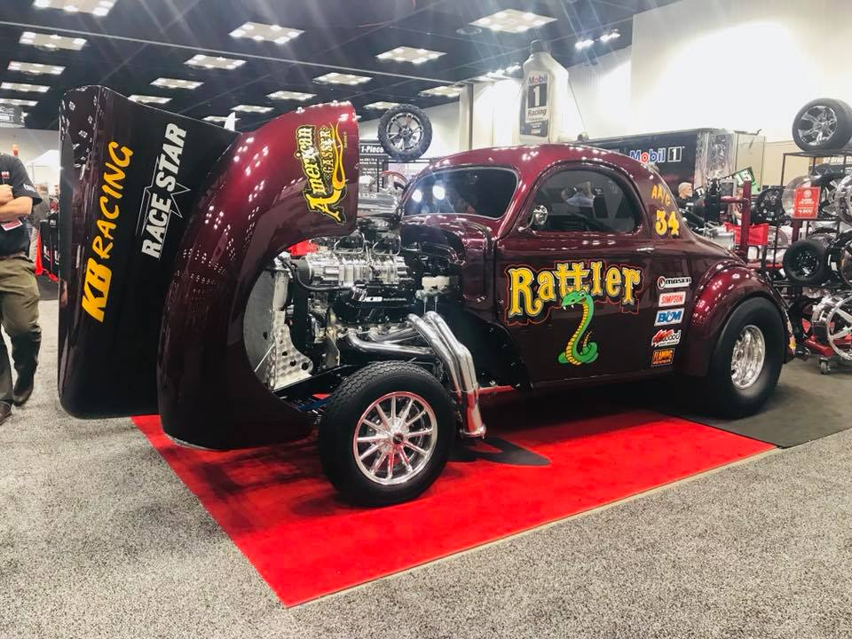 Race Star's very own '41 Willys Coupe Gasser, built by American Gasser, powered ...