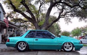 Check out this sweet, Race Star Wheels equipped '93 Calypso Green Coupe! It's al...