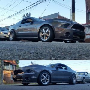 Mustang Monday! Check out this Race Star Wheels equipped, twin-turbo 2014 Mustan...