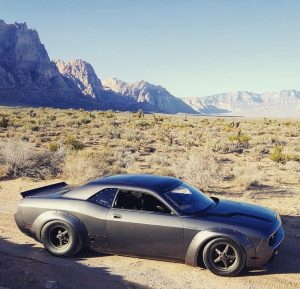 Check out this SICK SRT8 Challenger built by Gooichi Motors, appropriately named...