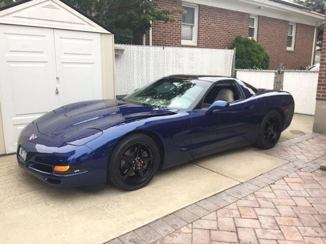 Check out this sweet C5 Vette, rolling on Dark Stars! #racestarwheels #racerscho...