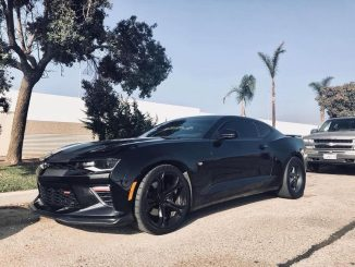 This is one slick 6th Gen Camaro packing a pair of Race Star Wheels out back! #r...