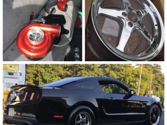 Check out this wicked, PROCHARGED, Race Star Wheels equipped, 2012 Mustang! #rac...