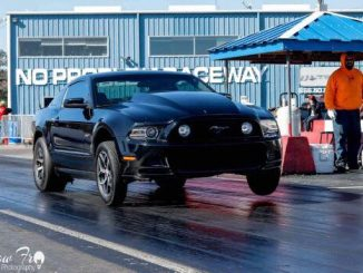 Check out this ALL MOTOR S197 Mustang lifting it's Race Star Recluse Wheels to t...