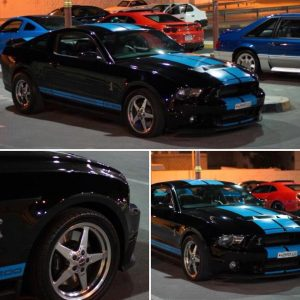 One SWEET Shelby GT500 rolling on Race Star Wheels! #racestarwheels #racerschoos...