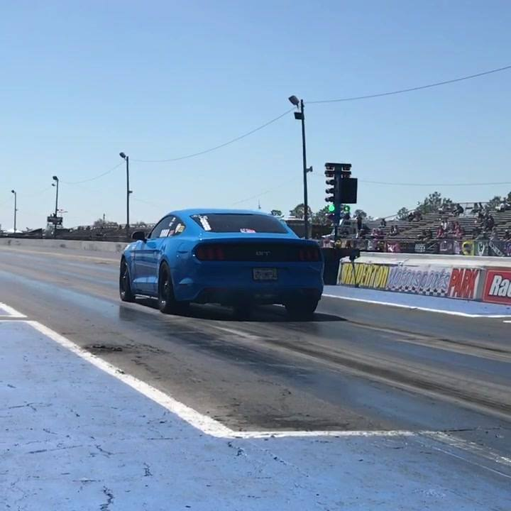 Check out this wicked Race Star Wheels equipped S550 Mustang making a hit at the...