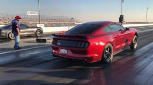 Wheels up for Mustang Monday! This Race Star Wheels equipped S550 Mustang is own...