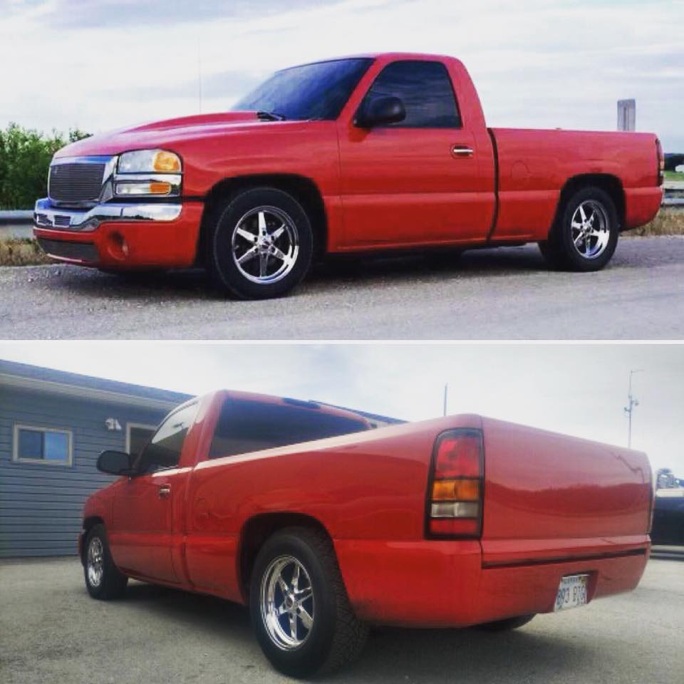 It's Truckin' Tuesday! This Race Star Wheels Equipped '04 GMC Sierra was sent to...