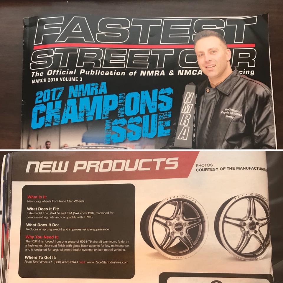 Be sure and pick up the latest issue of Fastest Street Car, where our new RSF-1 ...