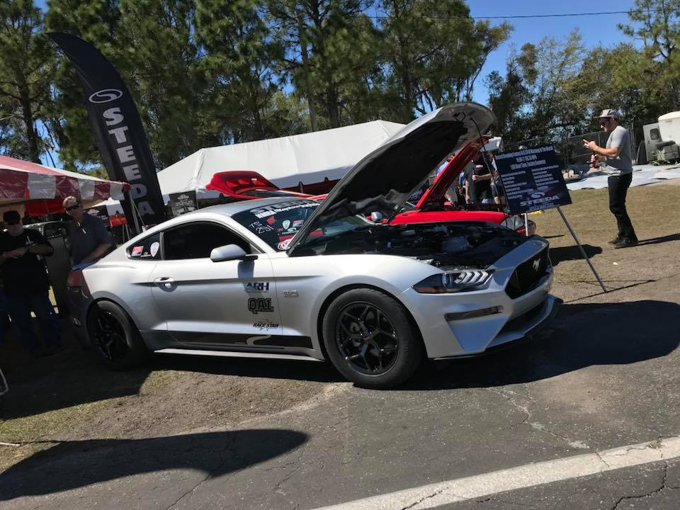 race star industries this is the fastest n a 2018 mustang in the world with a best pass of 10. Black Bedroom Furniture Sets. Home Design Ideas