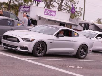 This is one KILLER Race Star Wheels equipped S550 Mustang we spotted at the NMRA...