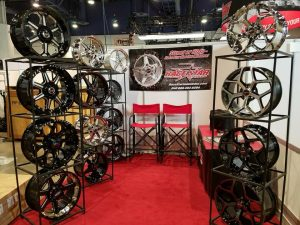 We're all setup at the 2018 National Automobile Dealers Association show in Las ...