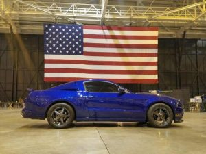 America!! This beautiful Race Star Wheels equipped Mustang says it all! Owner: D...