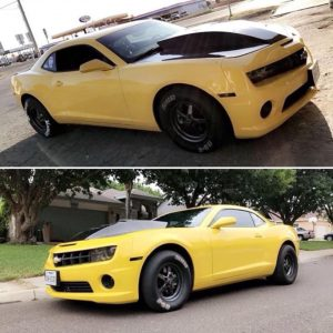 How about this killer Camaro to brighten your Monday!! Owner: Damian Mendoza #ra...