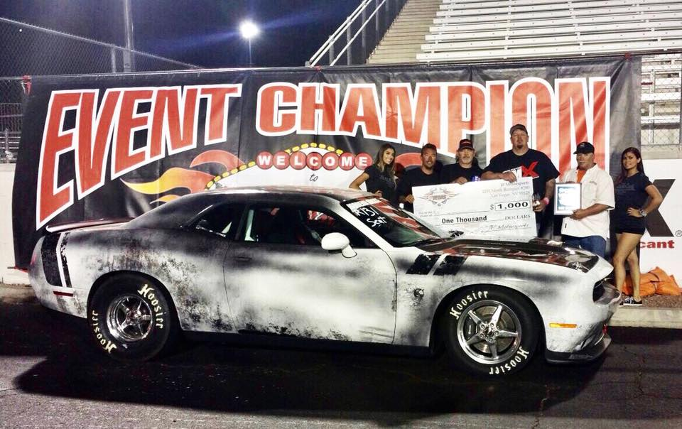 Team Race Star Wheels racer Jesse Rose took home 1st place in the Scat Pack Chal...