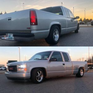 It's #truckintuesday, so check out this LS swapped GMC Sierra rolling on Race St...