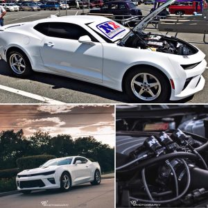 Here we have one sweet, nitrous injected, Race Star Wheels equipped Camaro! Owne...
