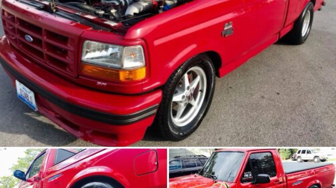 How about this 1st Gen Ford Lightning?!? Talk about nice! The Race Star Wheels j...