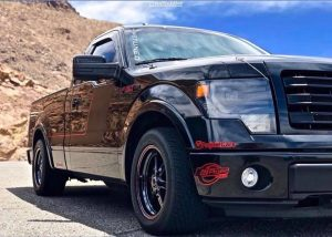 A customer recently sent this pic of his sweet F-150 Tremor rolling on Race Star...