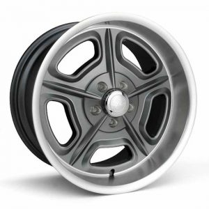 18x7  32 Mirage  Ford/GM  Gray Machined  32-870950GM