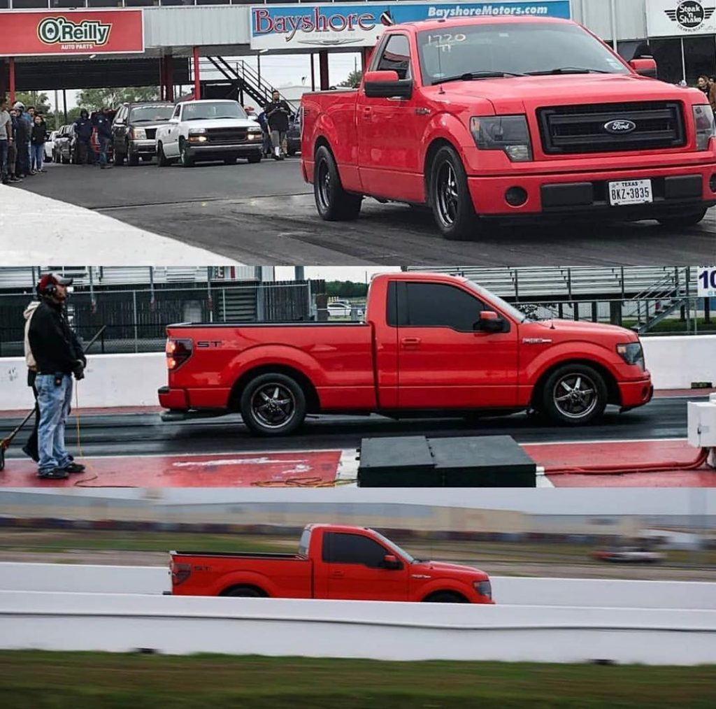 Today's #wheelwednesday pics are courtesy of @art_smr and his KILLER F150 Track ...