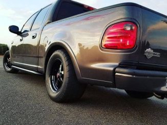 This sweet Race Star Wheels equipped Harley Davidson edition F-150 is owned by @...