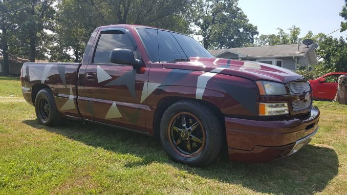 We were recently sent these pics of a customer's '03 Silverado, sporting a 5/7 d...