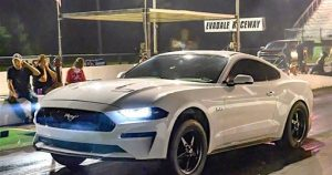 Whipple-Boosted, Stock-Engine 2018 Mustang Is On The Edge Of Eights