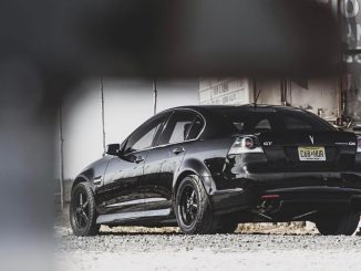 One sinister Race Star Wheels equipped G8! Photo: Brant Photography  #racestarwh...