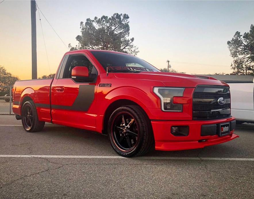 This is one SWEET F-150 rolling on Race Stars! Owner: @lacolorada16_iest #racest...