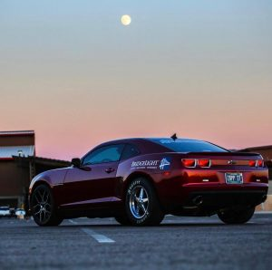 Check out this killer Race Star Wheels equipped Camaro SS! This great shot was c...