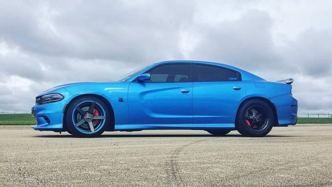 One sweet Charger rolling on Race Stars! Owner: @hrscatpack #racestarwheels #mop...