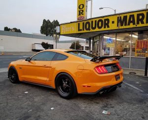 We're loving this clean S550 Mustang rolling on Race Stars! Owner: @oj_simp5.0n ...