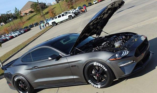One clean Race Star Wheels equipped S550 for #mustangmonday! Owner: Clifton Kirk...
