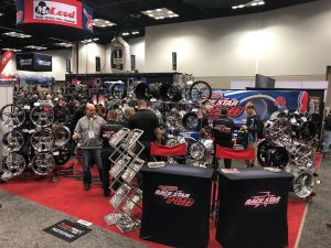 We're rocking and rolling here at the Race Star Wheels booth! If you're here at ...
