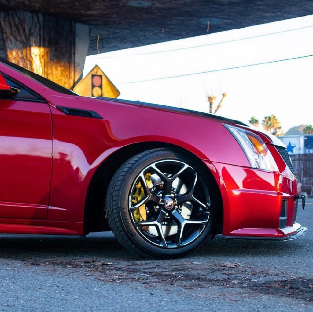 This is a perfect #wheelwednesday pic, courtesy of @angryredcaddy! Race Star Whe...