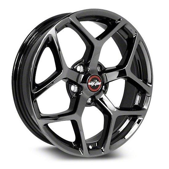 17x4.5  95 Recluse  Dodge  Black Chrome  95-745442BC