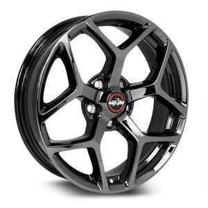 17x7  95 Recluse  Corvette & GTO  Black Chrome  95-770249BC