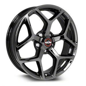 17x7  95 Recluse  Dodge  Black Chrome  95-770447BC