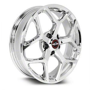 17x4.5  95 Recluse  Corvette & GTO  Chrome  95-745245C