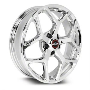 17x7  95 Recluse  Corvette & GTO  Chrome  95-770249C