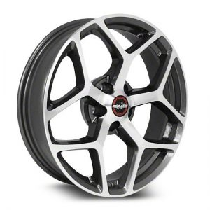 17x7  95 Recluse  Corvette & GTO  Metallic Gray  95-770249GP