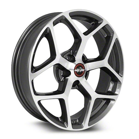 17x7  95 Recluse  Corvette & GTO  Metallic Gray  95-770249GP