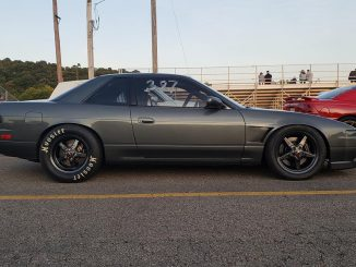 Another one from the rare file...a '93 Nissan 240SX running 15x8 rears with a 26...