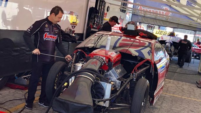 The #racestarequipped KB Racing NHRA Pro Stock cars are getting ready for the fi...