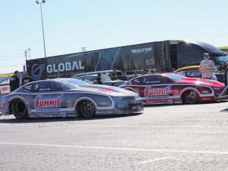 Round 1 Qualifying for NHRA Pro Stock and the #racestarequipped KB Racing Summit...