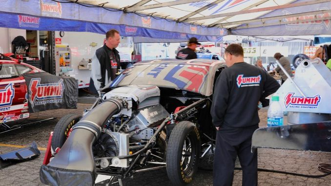 Jason Line and the KB Racing team are busy putting the final touches on the Summ...